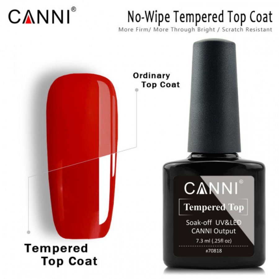 Top Coat fara Degresare CANNI Tempered Top 7.3ml